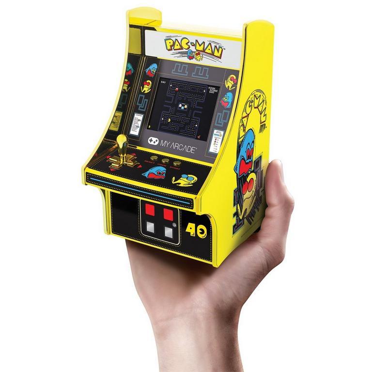 PAC-MAN 40th Anniversary Micro Arcade Machine