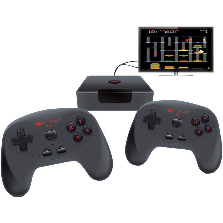 Plug and Play Wireless Game Console with 2 Controllers