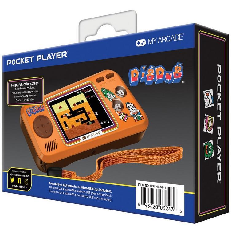 Dig Dug Pocket Player