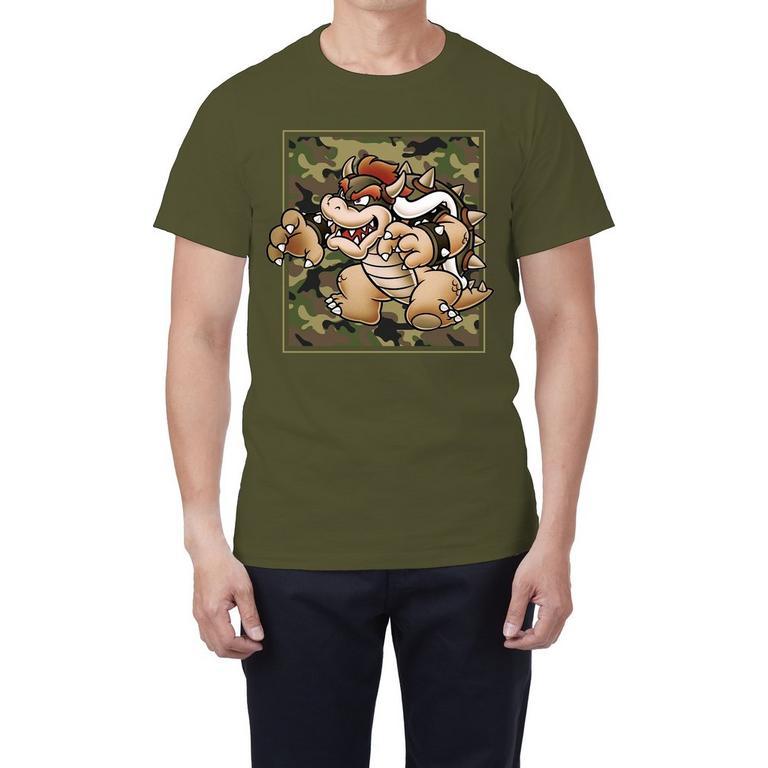 Super Mario Bros. Bowser Camo T-Shirt