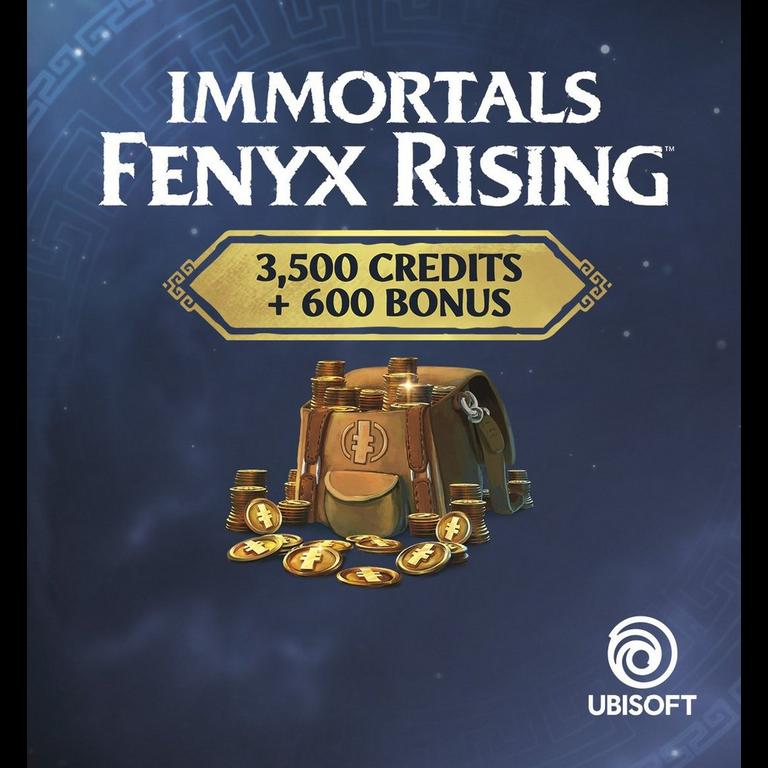 Immortals Fenyx Rising 4,100 Credits Colossal Pack