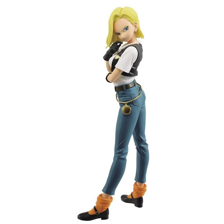 Anime Dragon Ball Z Glitter /& Glamours Android No.18 Figure Toy Collectible Gift