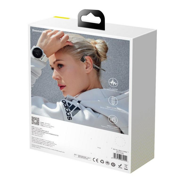 Baseus BC10 COVO Wireless Bone Conduction Black Headset