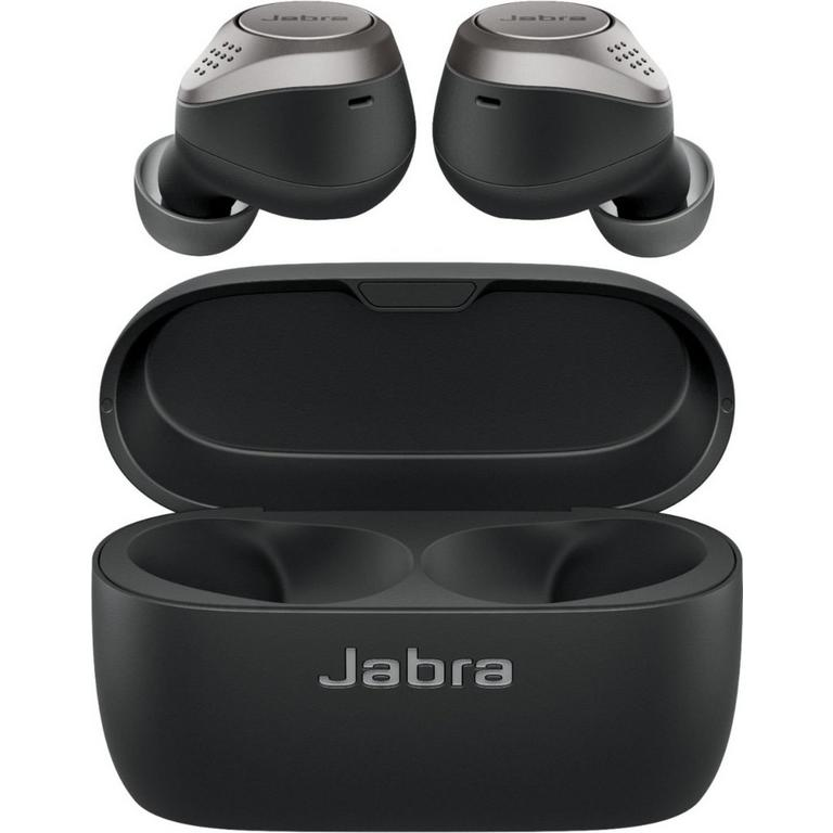 Jabra Elite 75t True Titanium Black Wireless In-Ear Headphones