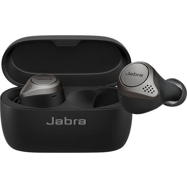 Jabra Elite 75t True Titanium Black Wireless In-Ear Headphones