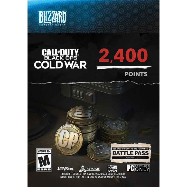 Call of Duty: Black Ops Cold War 2,400 Points