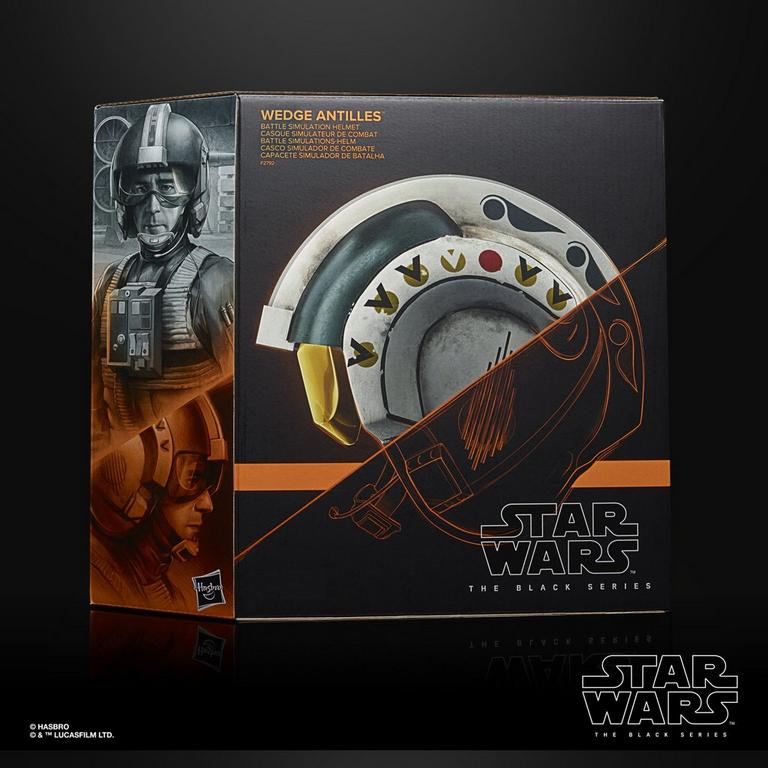 Star Wars A New Hope Wedge Antilles Black Series Helmet Replica