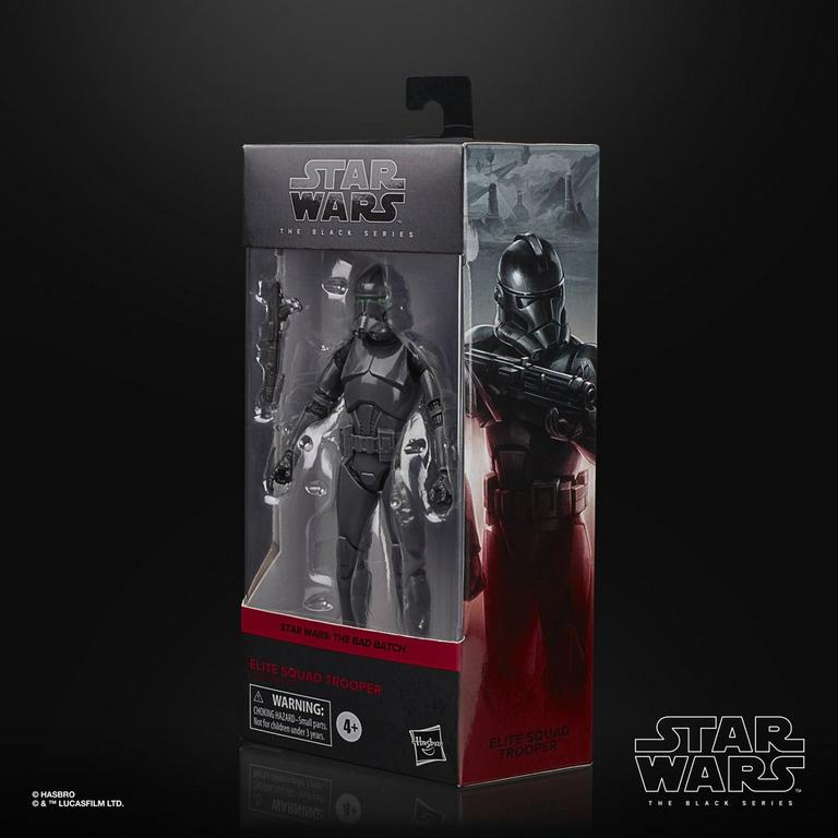 Star Wars: The Bad Batch Elite Squad Trooper The Black Series Collectible Action Figure