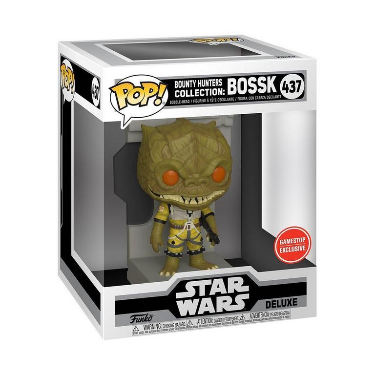Funko POP! Deluxe: Star Wars Bounty Hunter Bossk Only at GameStop