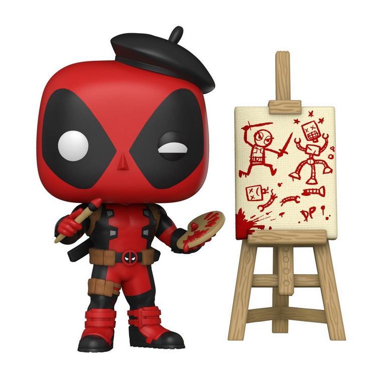 Funko POP! Marvel: Deadpool Artist Only at GameStop