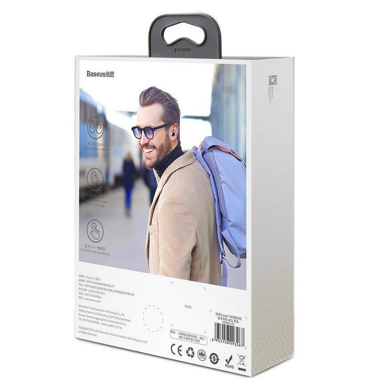 Baseus W01 Encok Black True Wireless Earphones