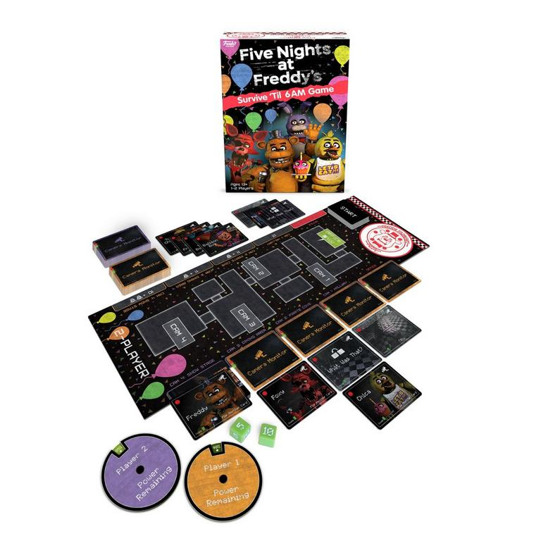 Five Nights at Freddy's: Survive 'Til 6AM Board Game