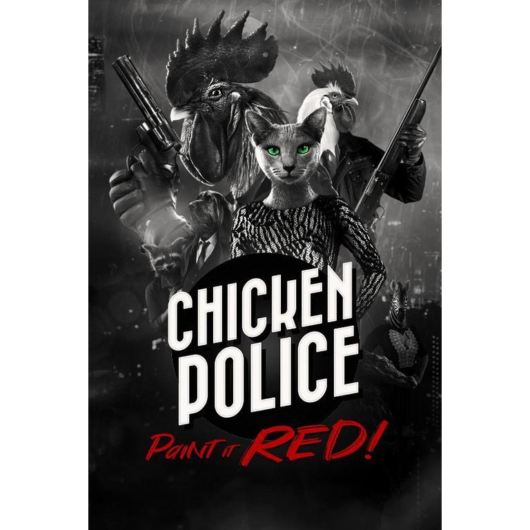 Digital Chicken Police: Paint it RED! PC Games HandyGames GameStop