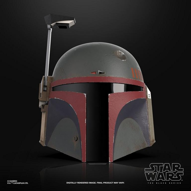 Star Wars: The Mandalorian Boba Fett (Re-Armored) The Black Series Premium Electronic Helmet