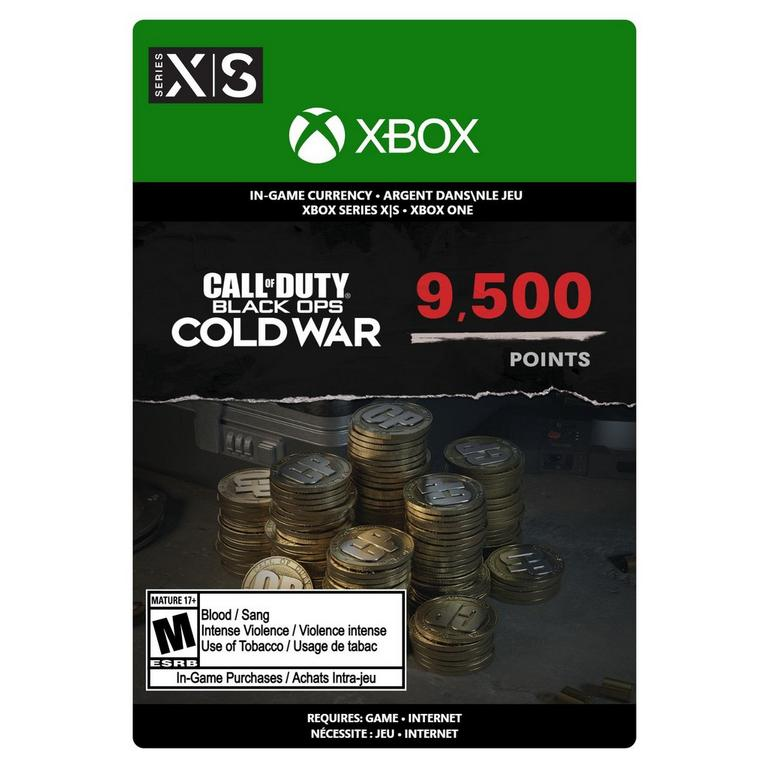 Call of Duty: Black Ops Cold War 9,500 Points