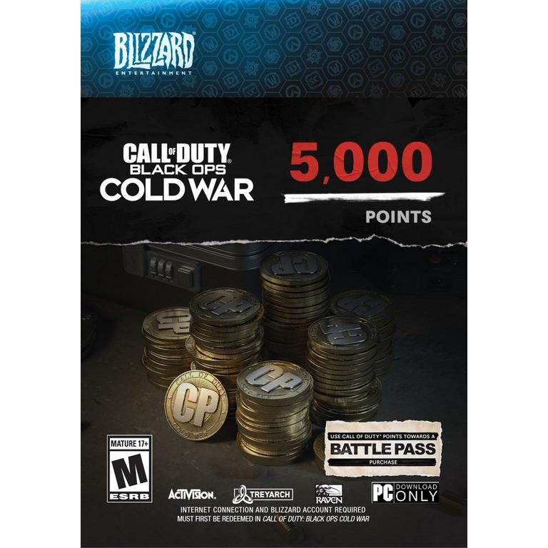 Call of Duty: Black Ops Cold War 5,000 Points