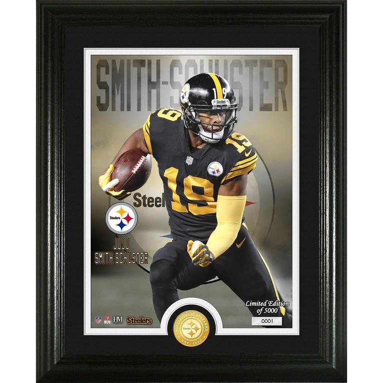 Pittsburgh Steelers Juju Smith-Schuster Bronze Photo Mint
