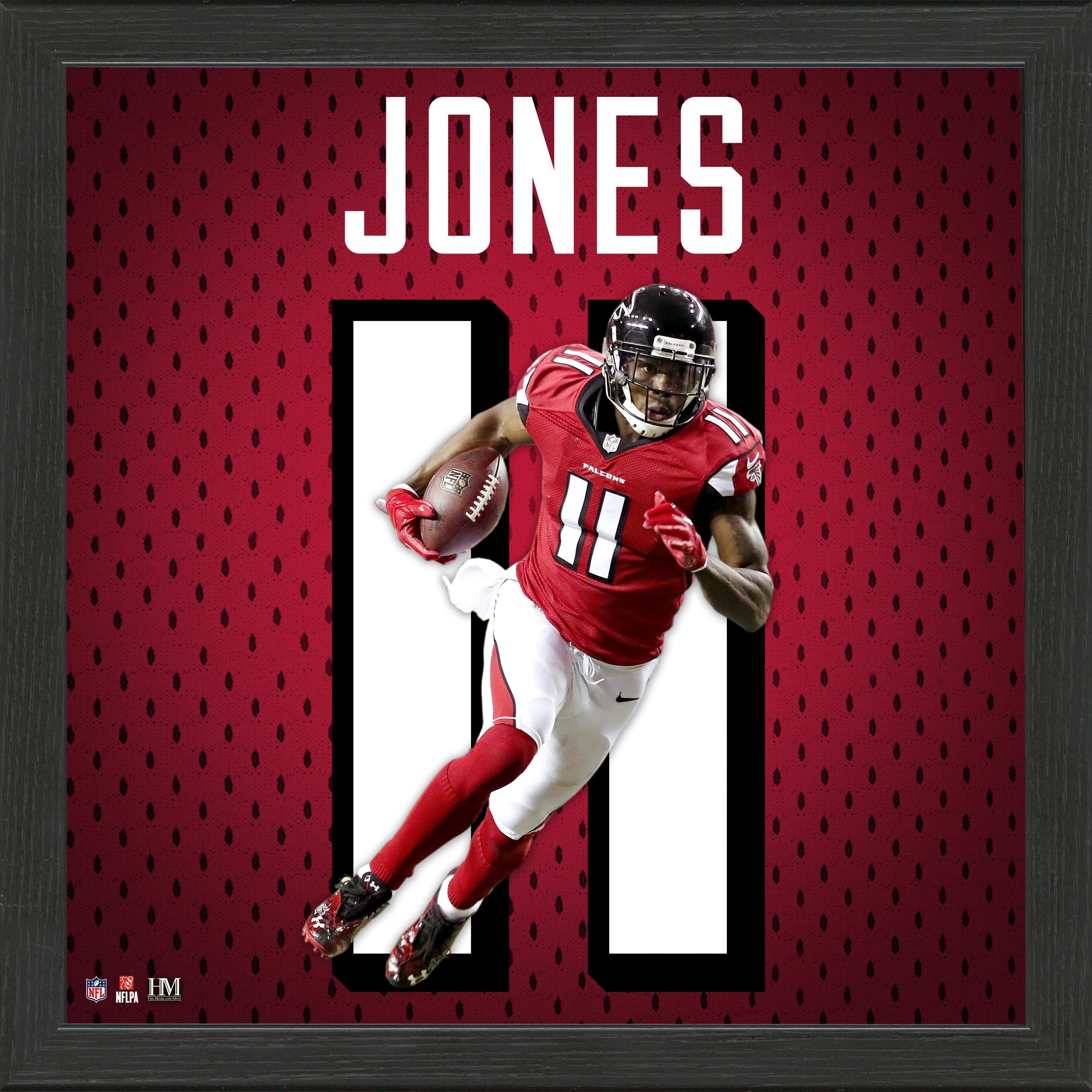 Atlanta Falcons Julio Jones Jersey Number Framed Photo | GameStop