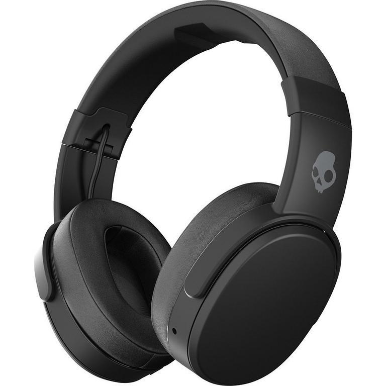 Crusher Black Over Ear Bluetooth Headphones