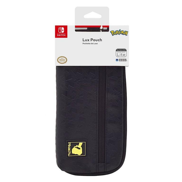 Pokemon Pikachu Lux Pouch for Nintendo Switch