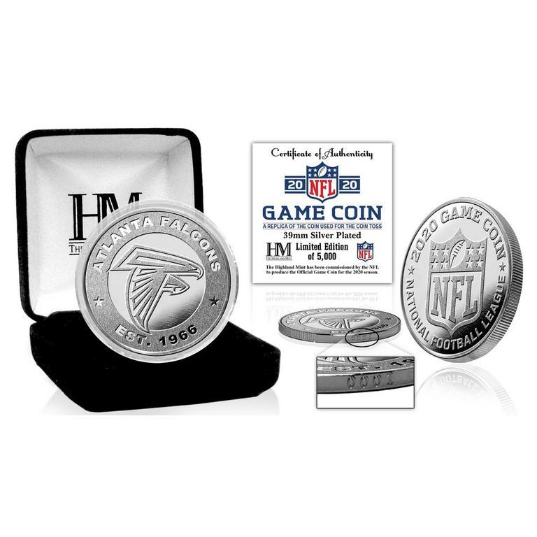 NFL Atlanta Falcons Game Coin Replica 2020 Silver Mint