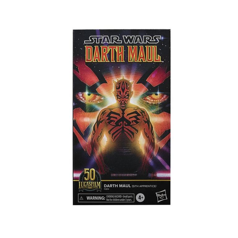 Star Wars Darth Maul The Black Series Lucasfilm 50th Anniversary Action Figure