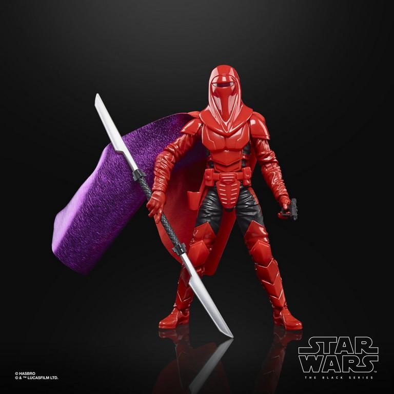 Star Wars: Crimson Empire Kir Kanos The Black Series Lucasfilm 50th Anniversary Action Figure