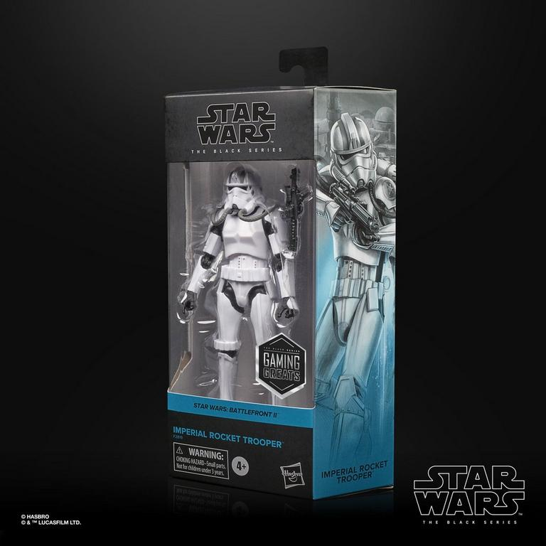 Star Wars: Battlefront II Imperial Rocket Trooper The Black Series Action Figure Only at GameStop