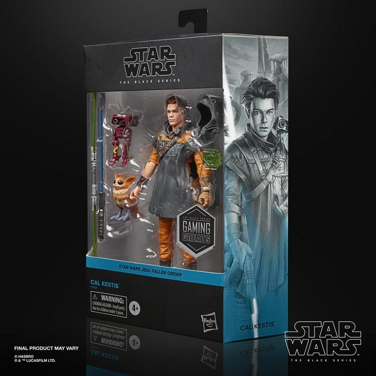 Star Wars Jedi: Fallen Order Cal Kestis The Black Series Deluxe Action Figure Only at GameStop