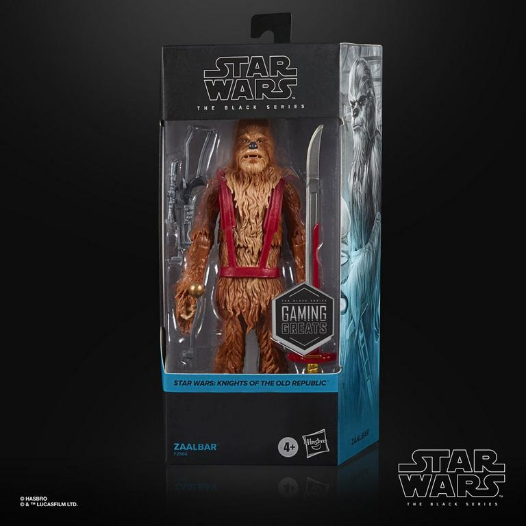 Star Wars: Knights of the Old Republic Zaalbar The Black Series Action Figure Only at GameStop