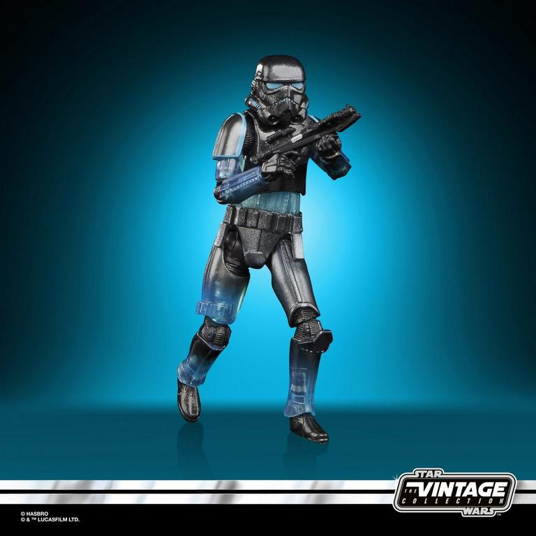 Star Wars The Force Unleashed Shadow Stormtrooper Vintage Series Action Figure