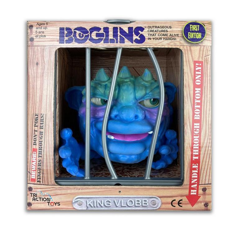 Boglins King Vlobb Collectible Figure