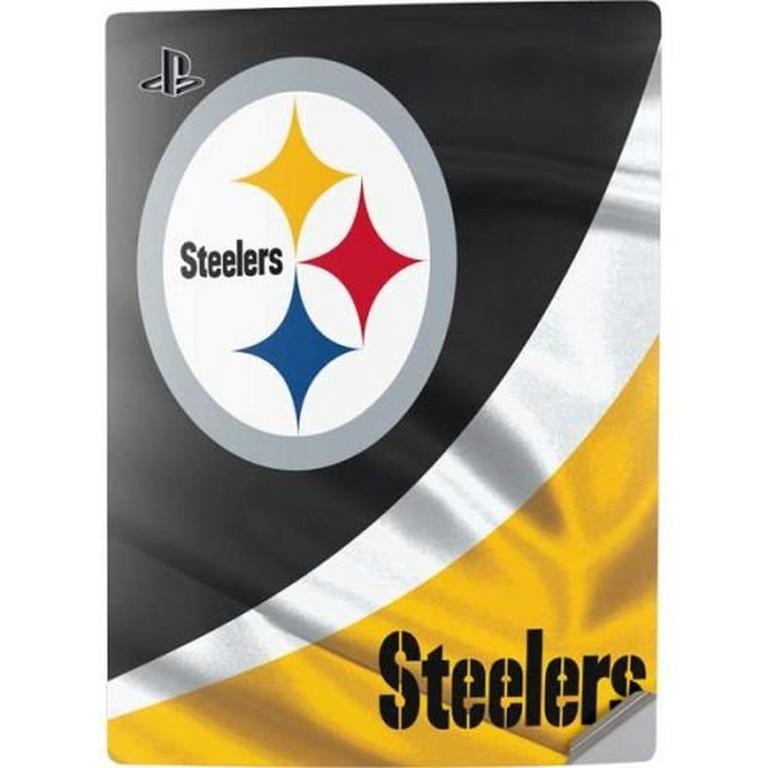 NFL Pittsburgh Steelers Console Skin for PlayStation 5 Digital Edition