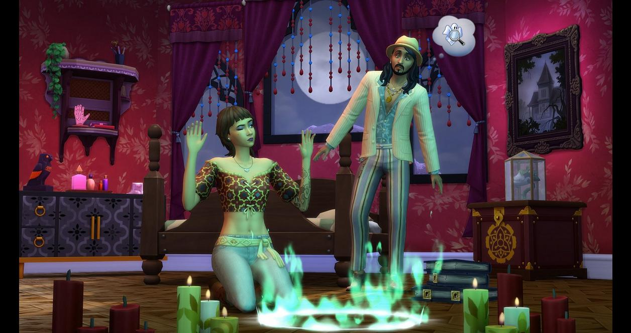 The Sims 4: Paranormal Stuff