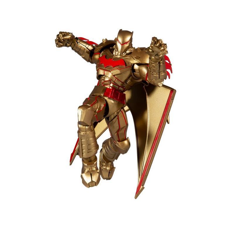 Batman Hellbat Gold Edition DC Multiverse Action Figure