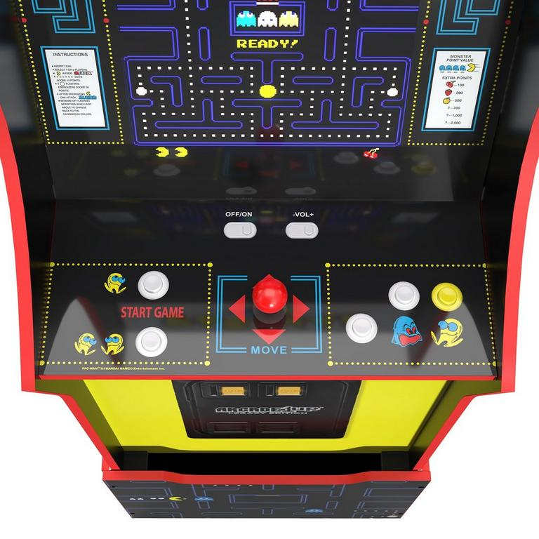 Bandai Namco Entertainment Game Cabinet with Riser Legacy Edition
