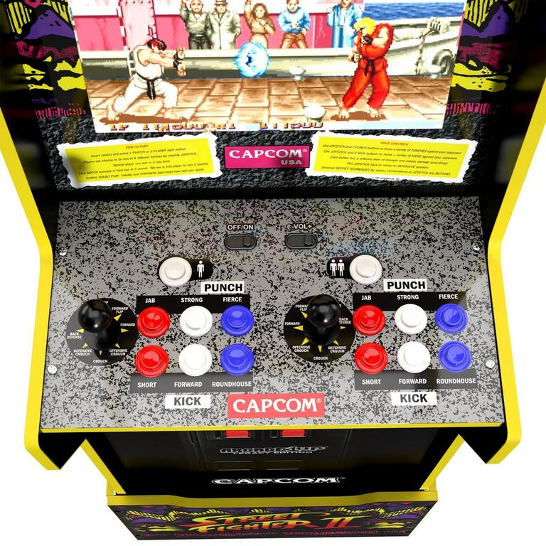 Capcom Game Cabinet with Riser Legacy Edition