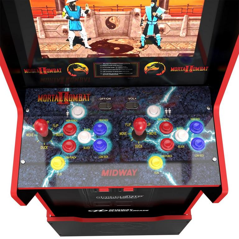 Midway Game Cabinet with Riser Legacy Edition