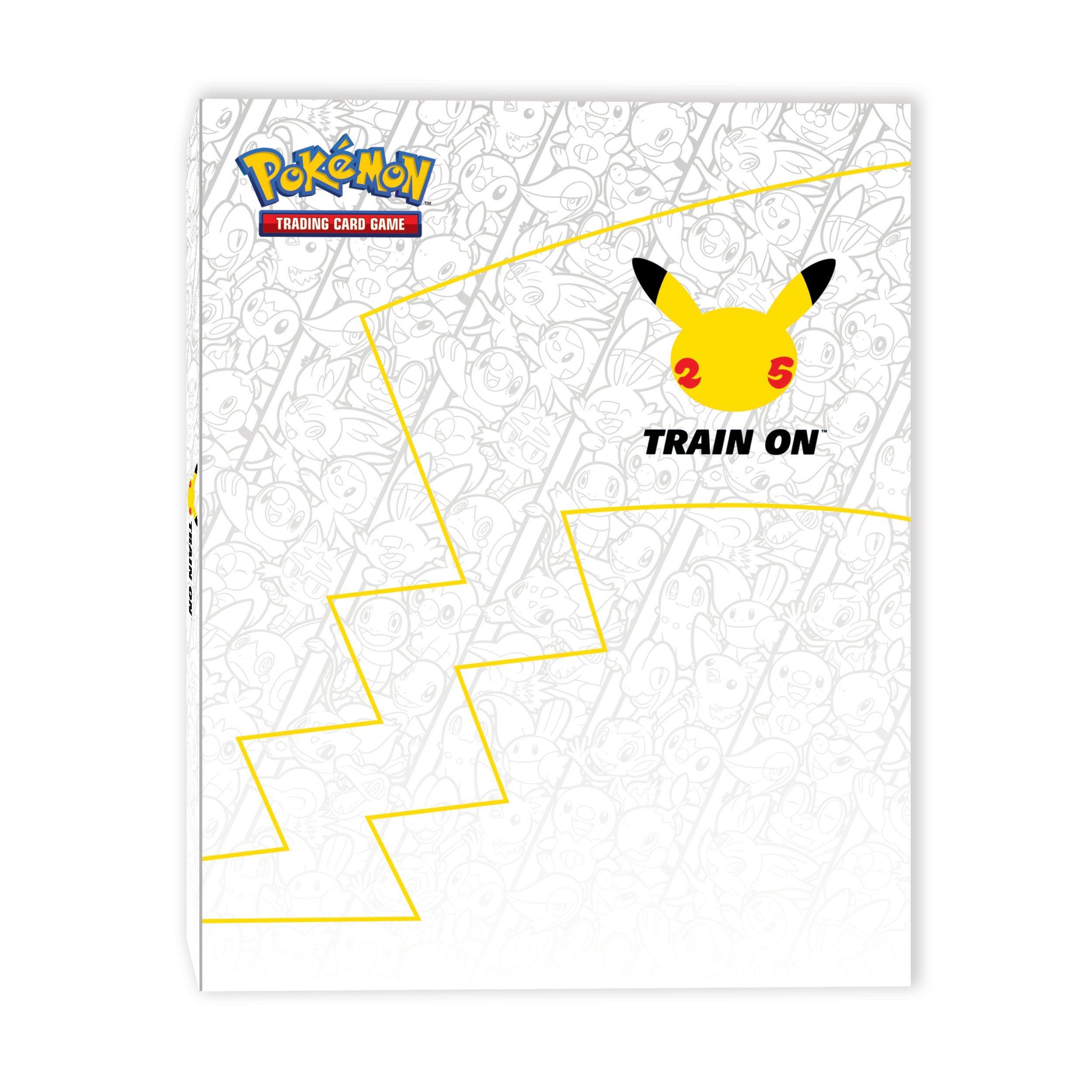 Pokemon 25th Anniversary First Partner Trading Card Binder Gamestop