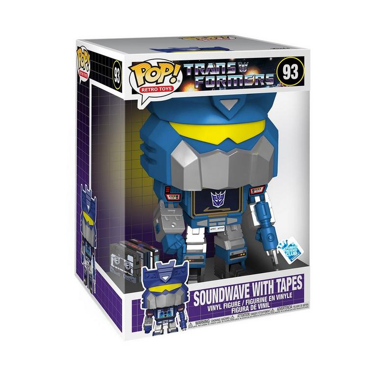POP! Jumbo: Transformers Soundwave with Tapes 10-inch Only at GameStop