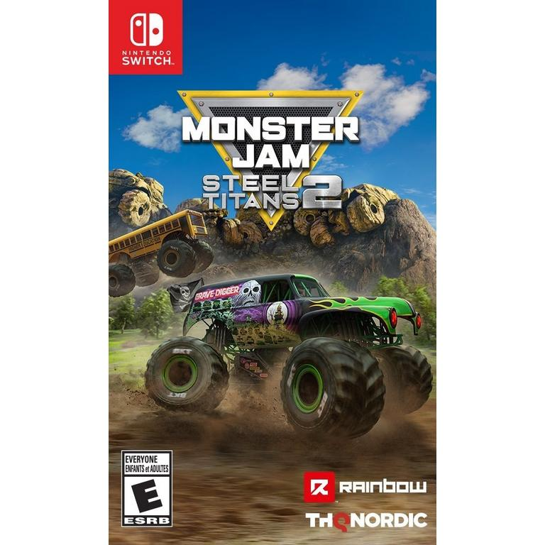 Monster Jam Steel Titans 2 - Nintendo Switch   Nintendo Switch   GameStop