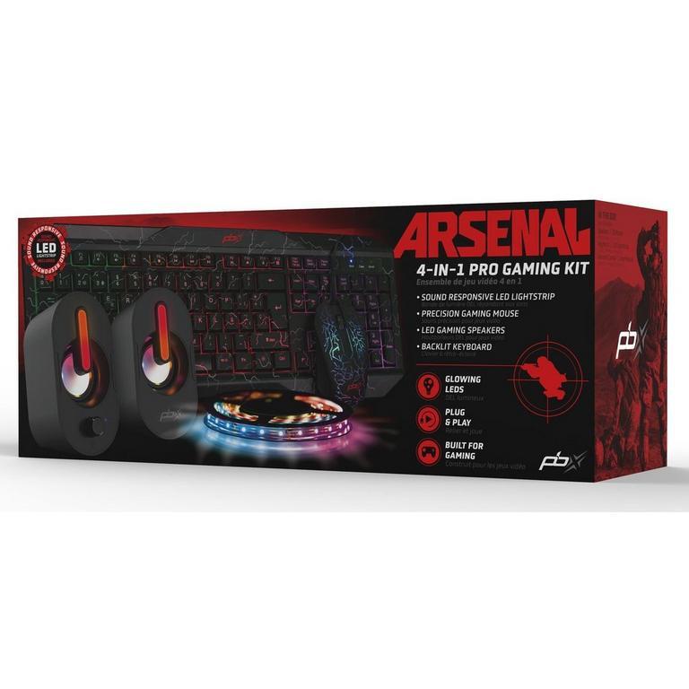 Arsenal 4-in-1 Gaming Kit Bundle
