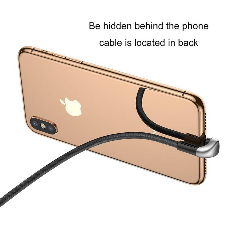 U-Shaped 1 Meter Charging Cable for iPhones