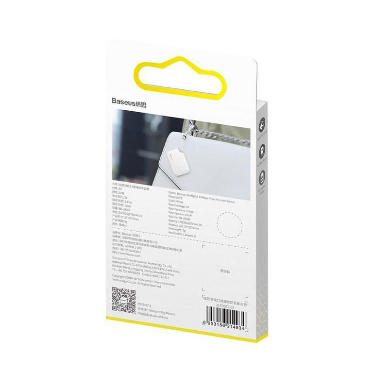 T2 Bluetooth Anti-Loss Alarm Tag