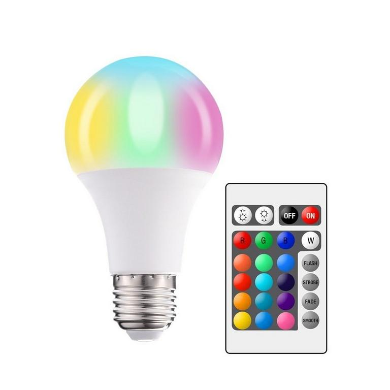 Mood LED Light Bulb with Remote