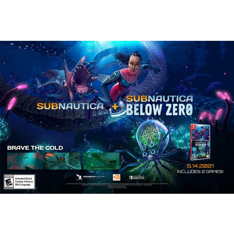 Subnautica and Subnautica: Below Zero