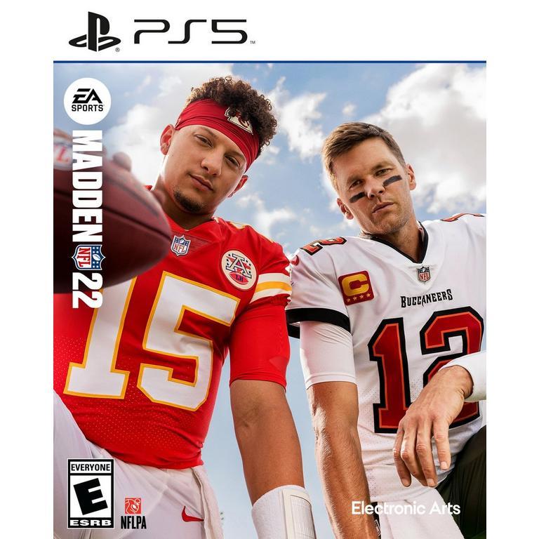 Preorder Madden NFL 22 - PlayStation 5 PS5 Games Sony GameStop