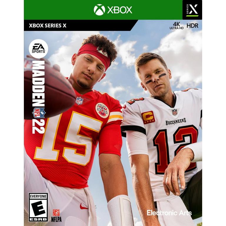 Preorder Madden NFL 22 - Xbox Series X Xbox Series X Games Electronic Arts GameStop