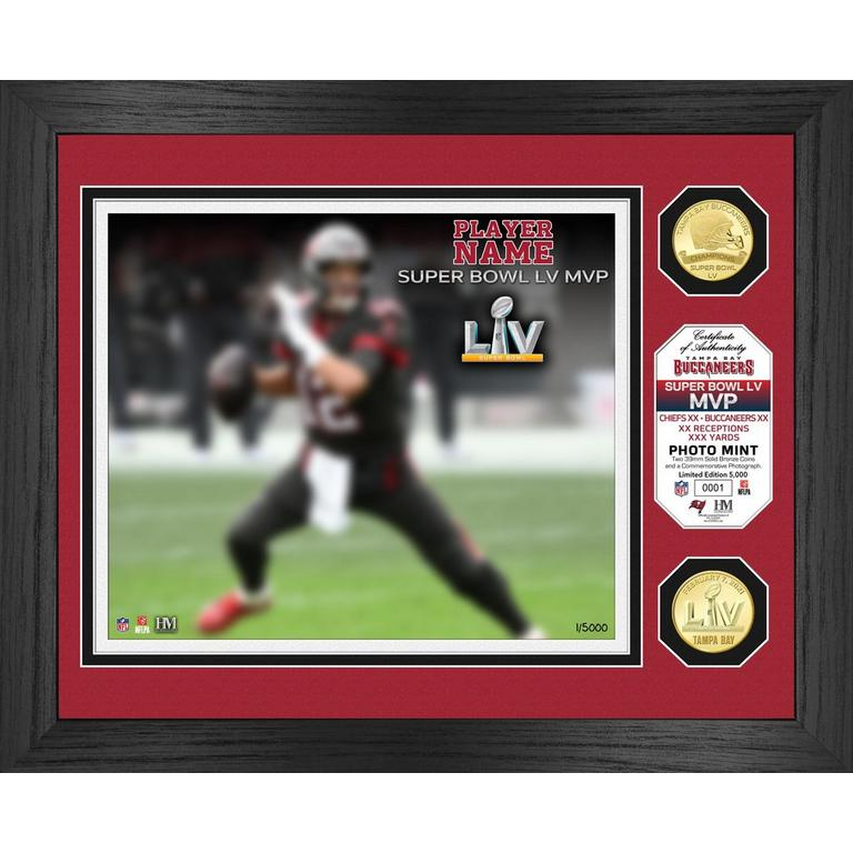 NFL Tampa Bay Buccaneers Super Bowl LV MVP Bronze Coin and Photo Mint