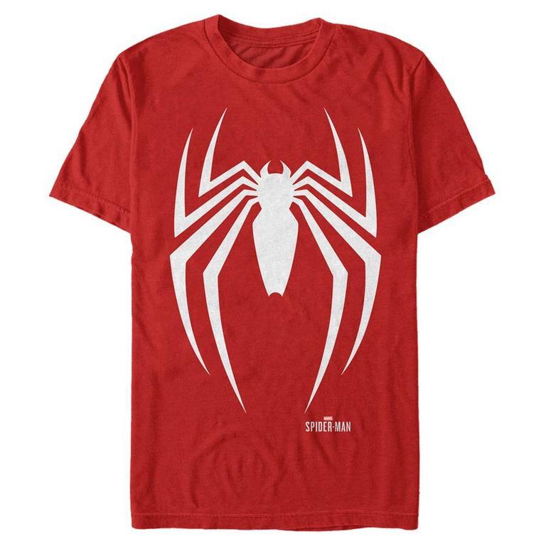Marvel Spider-Man Game Minimal Spider Logo T-Shirt